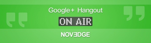Google+ Hangout On Air by Novedge