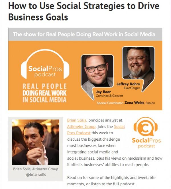 Social Pros Brian Solis